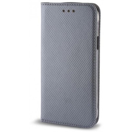 Smart Magnet case for Samsung S9 Plus steel