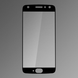 Ochranné sklo Q sklo Moto X4 čierne, fullcover, 0.33mm