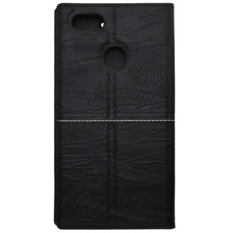 Knižkové puzdro Luxury Huawei P9 Lite mini čierne