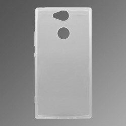 Gumené puzdro Sony Xperia XA2 priehľadné, nelepivé
