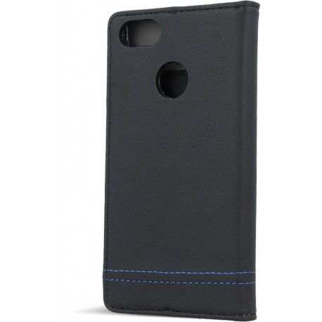 Smart Focus case for Huawei Mate 10 Lite black with blue thread