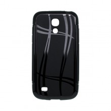 Puzdro Well Lines Samsung Galaxy S4 mini, čierne