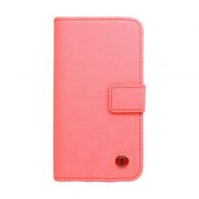 Knižkové puzdro Scratch Samsung Galaxy S5, ružové