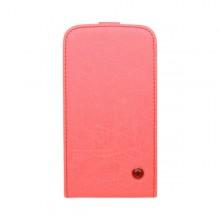 Knižkové puzdro Scratch Samsung Galaxy S5, ružová