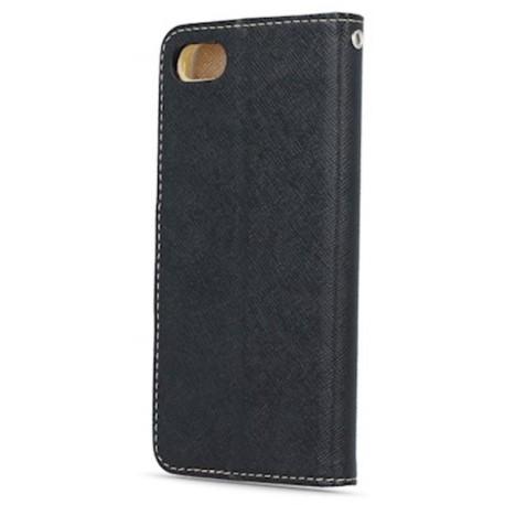 Smart Fancy case for Samsung A8 2018 A530 black-gold