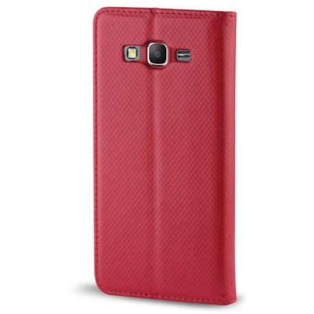 Smart Magnet case for Samsung S9 Plus red