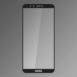 Ochranné sklo Q sklo Huawei Honor 9 Lite čierne, fullcover, 0,33 mm