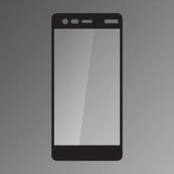 Ochranné sklo Q sklo Nokia 2 čierne, fullcover, 0,33 mm