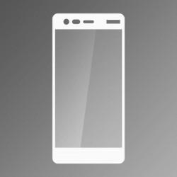 Ochranné sklo Q sklo Nokia 2 biele, fullcover, 0,33 mm