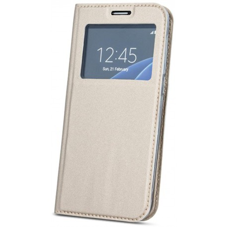 Smart Look case for Samsung A8 2018 A530 gold