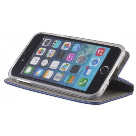 Smart Magnet case for Samsung S9 Plus navy blue