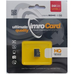 Imro microSD card 32 GB (cl.10 | UHS-I)