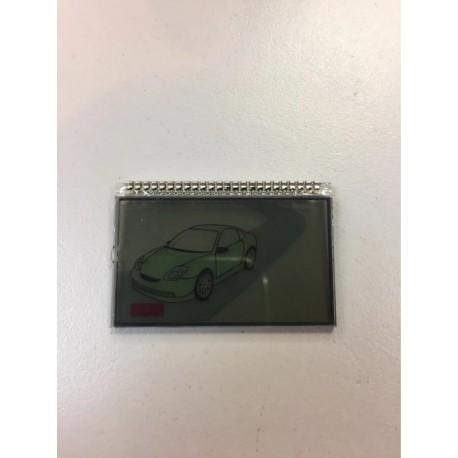 Vÿmena LCD ovládaču alarmu - MAGICAR 8000/9000/9300