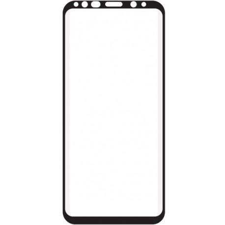 Tvrdené sklo 3D Q sklo Samsung Galaxy S9 Plus, čierne
