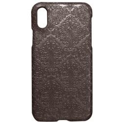 Plastové puzdro Tapeta iPhone X hnedé