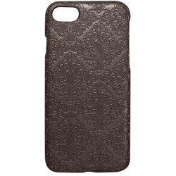 Plastové puzdro Tapeta iPhone 8 (7) hnedé