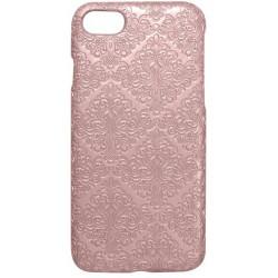 Plastové puzdro Tapeta iPhone 8 (7) ružové