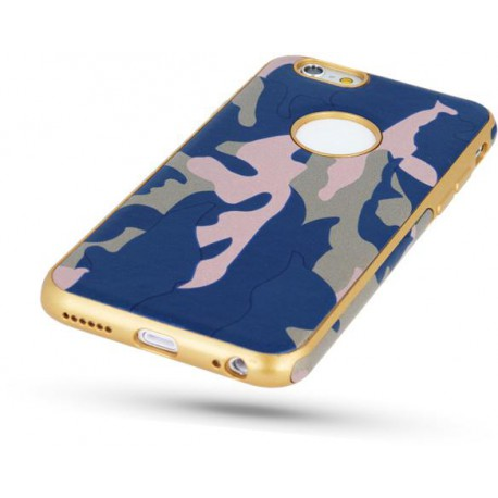Army case for Samsung A3 2017 A320 blue