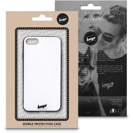 Beeyo Glass case for Samsung A5 2017 A520 white