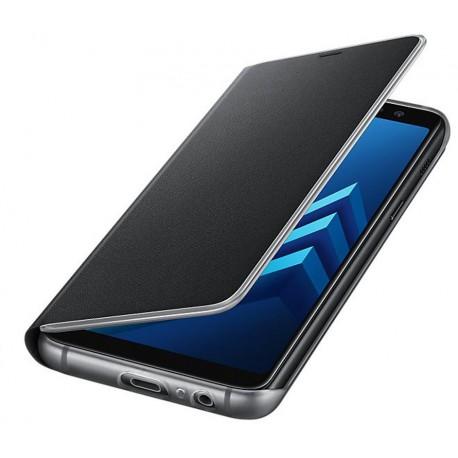 Samusng Neon Flip cover for A8 2018 A530 black