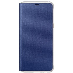 Samsung Neon Flip cover for A8 2018 A530 blue