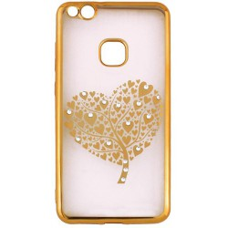 Beeyo Hearts Tree for Huawei P10 Lite gold