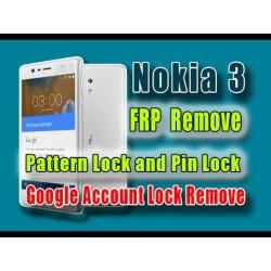 NOKIA 3 FRP odblok/unlock