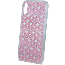 Fashion Glitter Square case for iPhone 6 Plus / iPhone 6s Plus pink