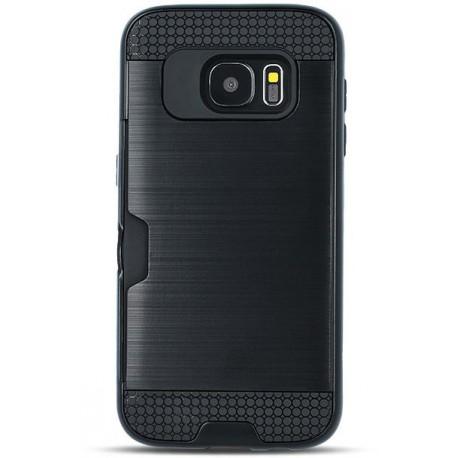 Defender Card case for Samsung A8 2018 A530 black