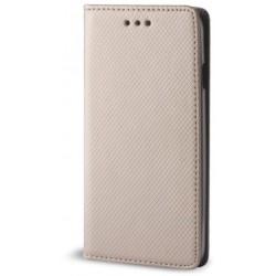 Smart Magnet case for Motorola Moto E5 Plus gold