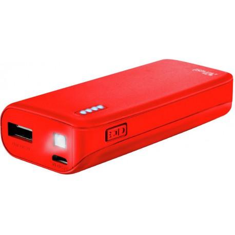 Trust Powerbank 4400 Primo red mat