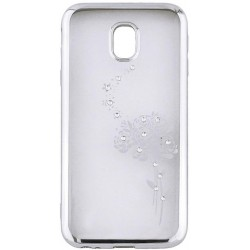 Beeyo Roses case for Samsung S9 G960 silver