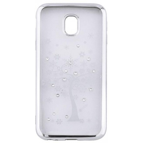 Beeyo Diamond Tree case for Samsung S9 G960 silver