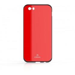 Sklenené puzdro Original iPhone 5 červené