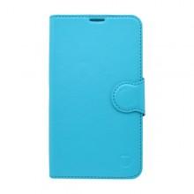 Knižkové puzdro bočné Samsung Galaxy Grand Prime, modré