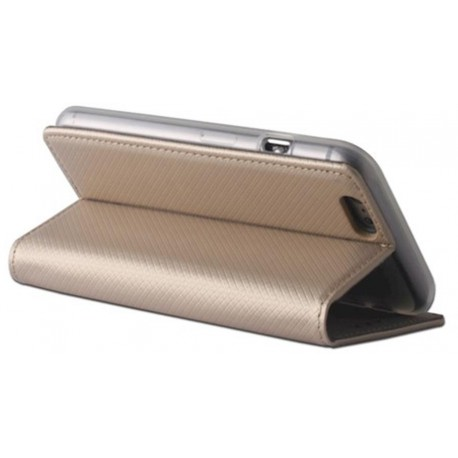 Smart Magnet case for Samsung S9 Plus G965 gold