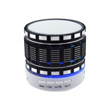 Čierny mini bluetooth reproduktor Music S-803, LED