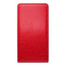 Knižkový obal sklopný Huawei P8 Lite, červený