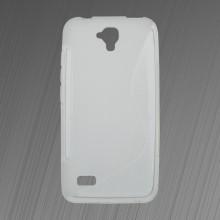Gumené puzdro S-line Huawei Y5, transparentné