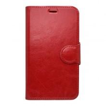 Knižkové puzdro bočné Huawei P8 Lite, červené