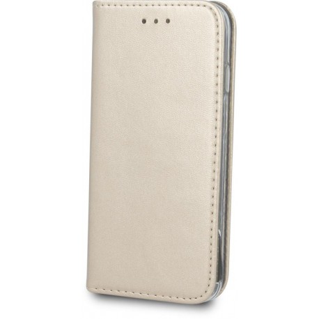 Smart Magnetic case for Samsung A6 2018 gold