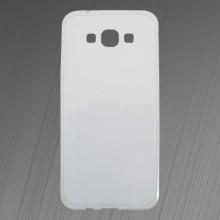 Gumené puzdro Samsung Galaxy A8, priehľadné