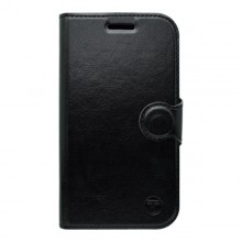 Bočné knižkové puzdro Samsung Galaxy S6 Edge, čierne