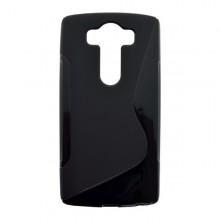 Gumené puzdro S-Line LG V10, čierne