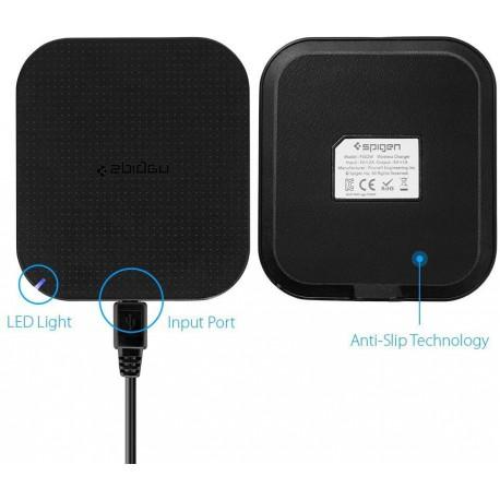 Spigen F302W wireless charger black