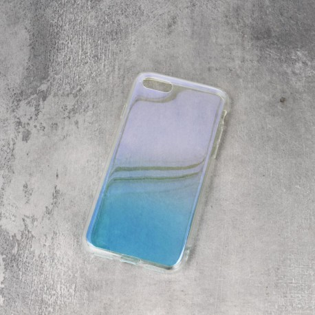 Gradient TPU case for Samsung A6 2018 blue