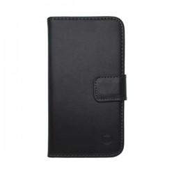 Knižkové puzdro bočné Samsung Galaxy Ace 4, čierna