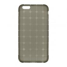 Gumené puzdro Squares iPhone 6S, sivé