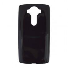 Gumené puzdro LG V10, čierne hladké