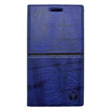 Knižkové puzdro Luxury Samsung Galaxy A3, modré